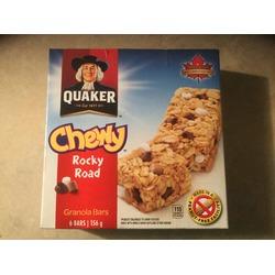 Quaker Chewy Rocky Road Granola Bars