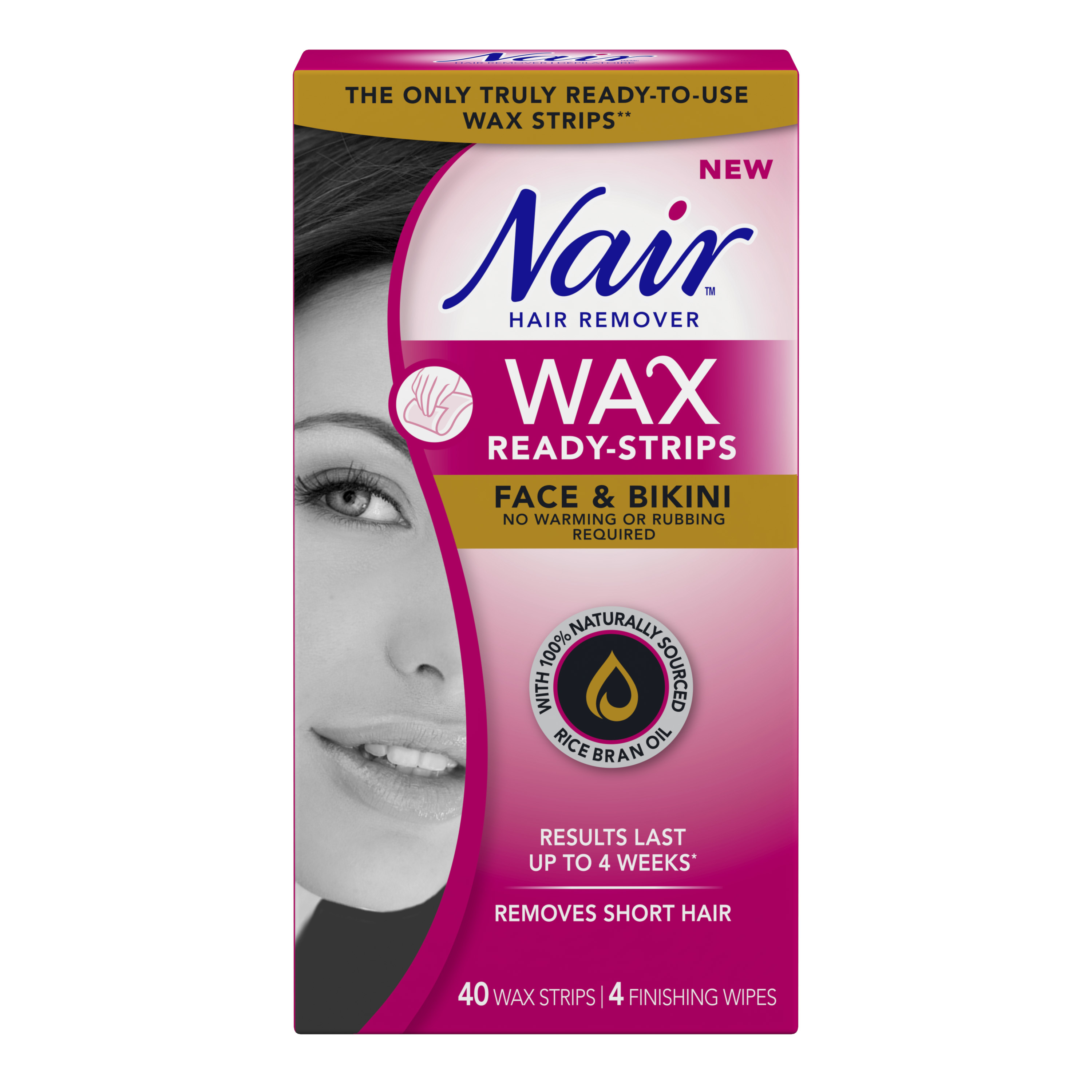 Nair Wax Ready Strips Face Bikini Reviews In Hair Removal