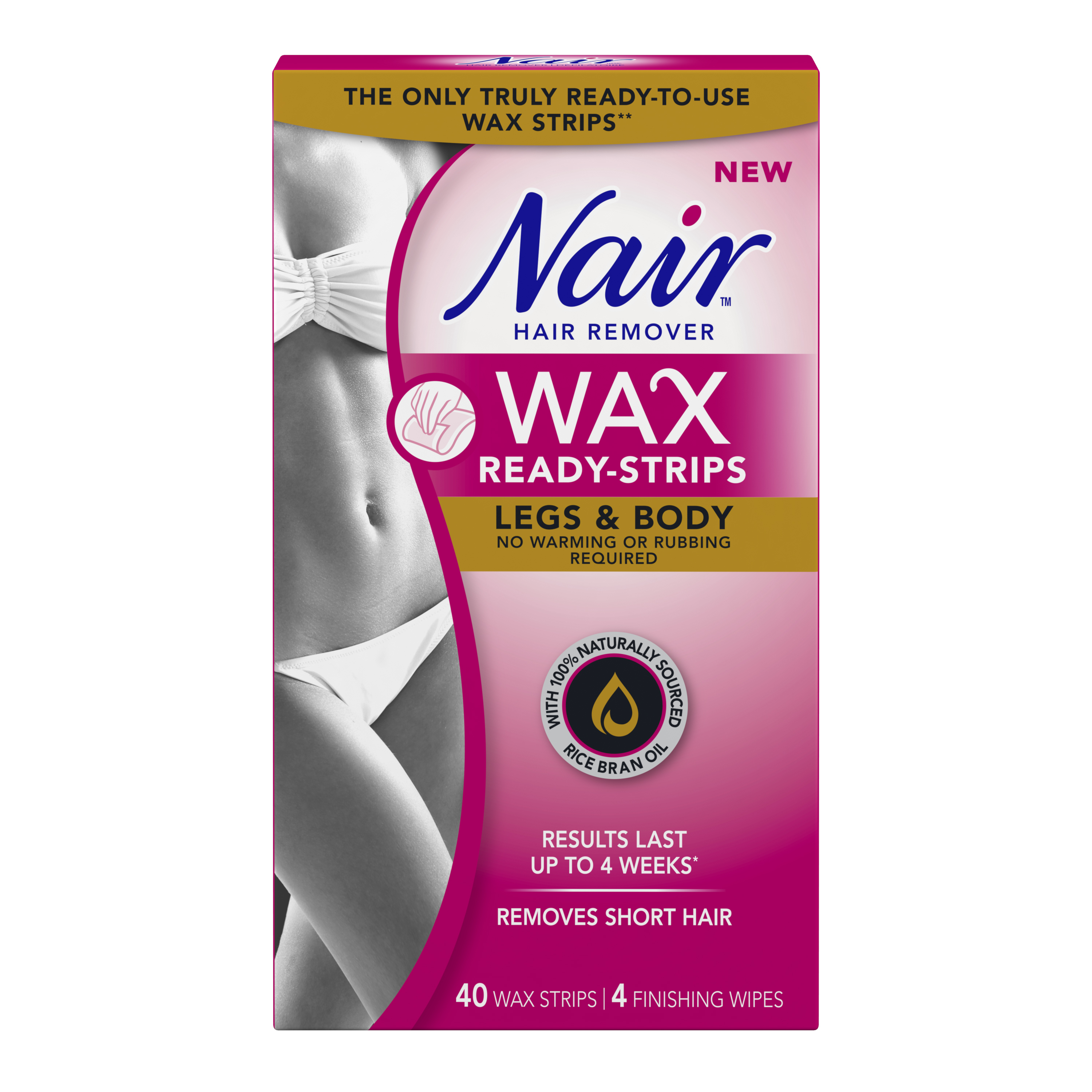 Nair Wax Ready Strips Legs Body Reviews In Hair Removal