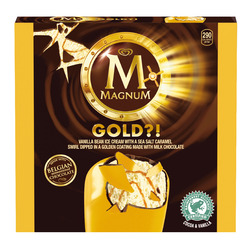 Magnum Gold Ice Cream Bars