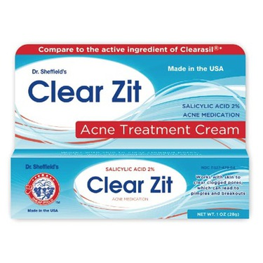 Dr. Sheffield's Clear Zit Acne Treatment Cream
