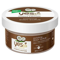 Yes To Coconut Polishing Body Scrub, 10 Ounce