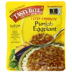 Tasty Bite Punjab Eggplant Heat & Eat Entree