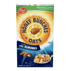 Post Honey Bunches of Oats with Almonds Cereal