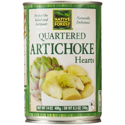 Native Forest Artichoke Hearts, Quartered