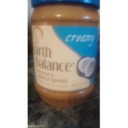 Earth Balence Coconut  & Peanut Spread