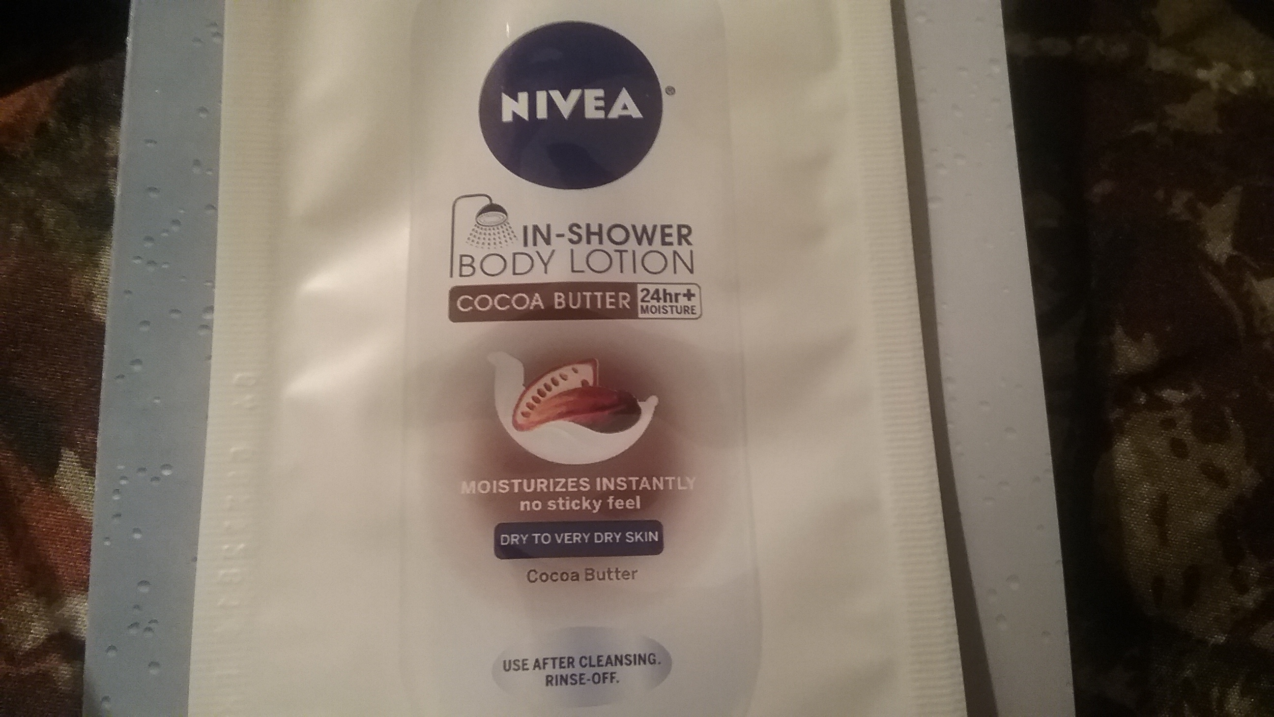 nivea inshower cocoa butter body lotion image gallery