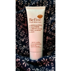 Befine food skin care- Exfoliating Cleanser with brown sugar, sweet almond and oats