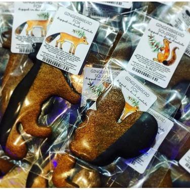 Soma Chocolatemaker Gingerbread forest animals