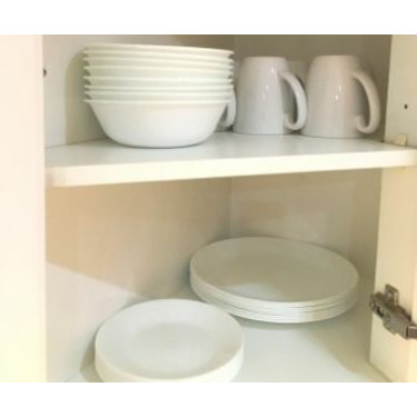 Corelle Winter Frost White Dinnerware Set, 16-Pc