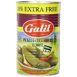 Galil Pickled Cucumbers in Brine