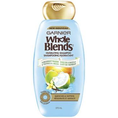 Garnier Whole Blends Coconut Water & Vanilla Milk Hydrating Shampoo