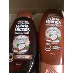 Garnier Whole Blends Coconut Water & Vanilla Milk Hydrating Shampoo and Conditioner