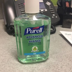 PURELL 9674-12-CMR Advanced Hand Sanitizer Aloe