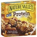 Nature Valley Protein Chewy Bars in Peanut, Almond and Dark Chocolate