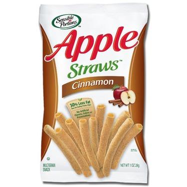 Sensible Portions Apple Straws, Cinnamon