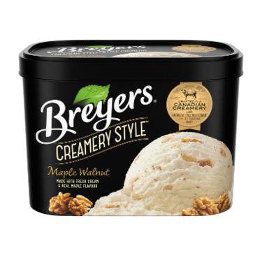 Breyer's Creamery Style Maple Walnut Frozen Dessert