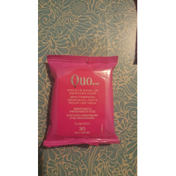 Quo Mini Eye Makeup Remover Pads