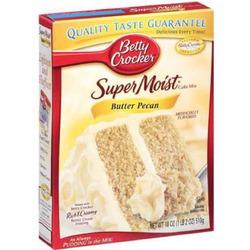 Betty Crocker super moist butter pecan cake mix