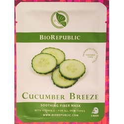 Bio Republic Skincare Cucumber Breeze Soothing Fiber Mask