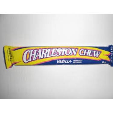 Charlestown chew vanilla bar
