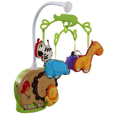 fisher price love u zoo mobile