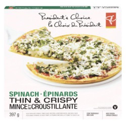 PC Thin Spinach Pizza