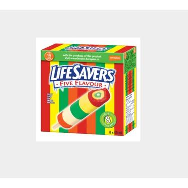 Lifesavers ice pops