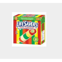 Lifesavers ice pops
