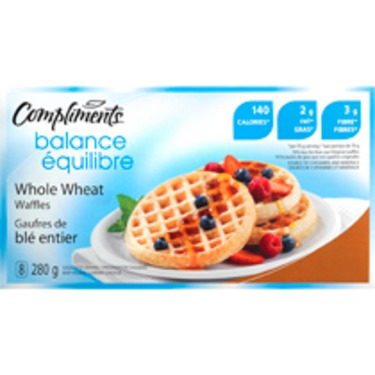compliment whole wheat waffles