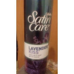 Gillette Satin Care Lavender Kiss