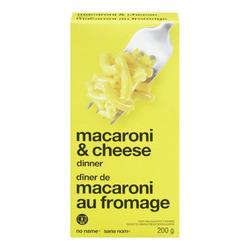 No Name Macaroni And Cheese