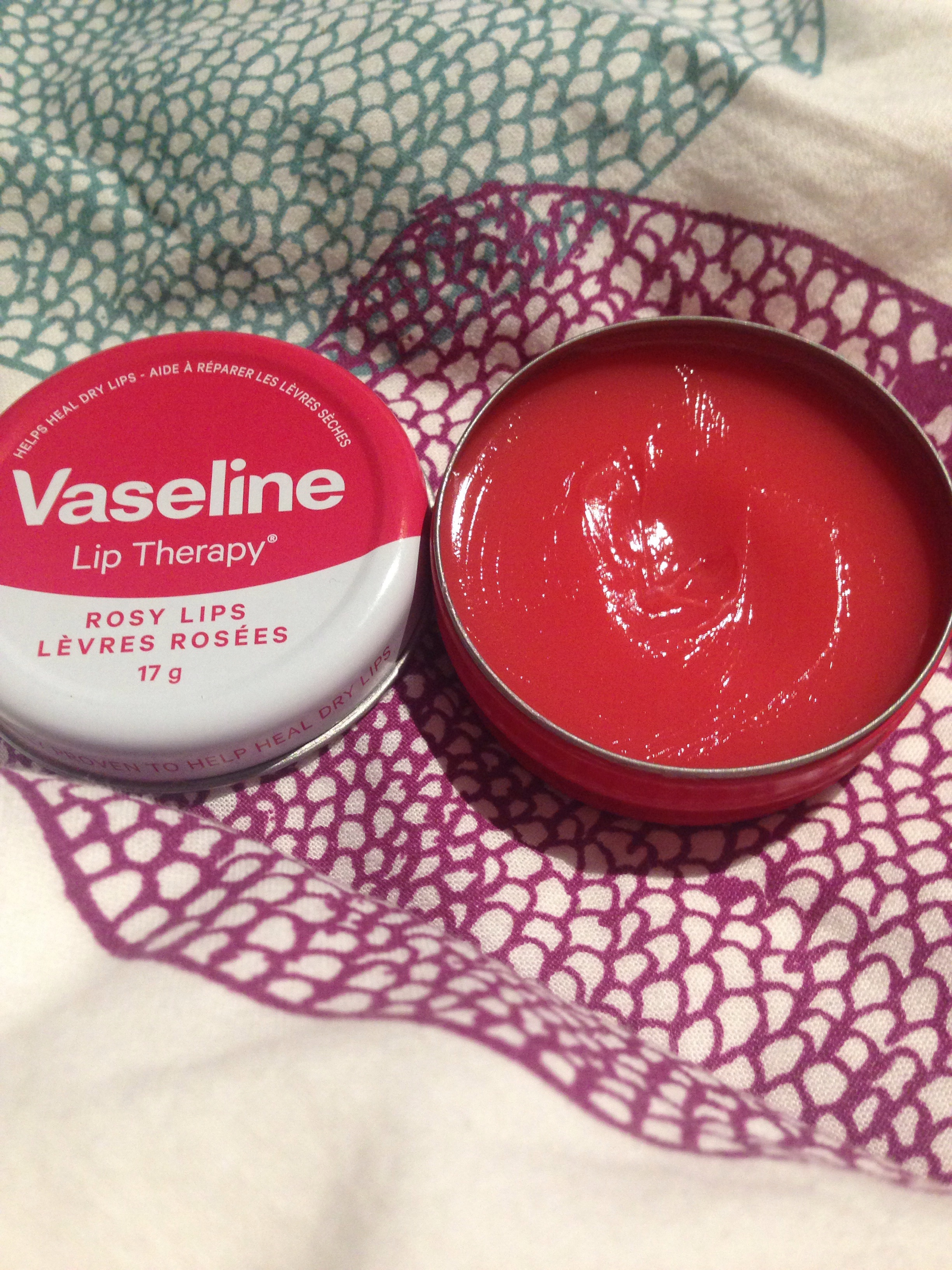 Rosy Lips Vaseline Fake Lip Balm Therapy Reviews In Balms Treatments