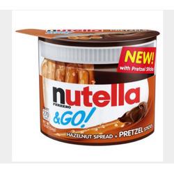 Nutella & GO Hazelnut Spread and Pretzel Sticks