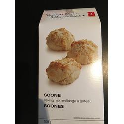 Presidents Choice Scone baking mix