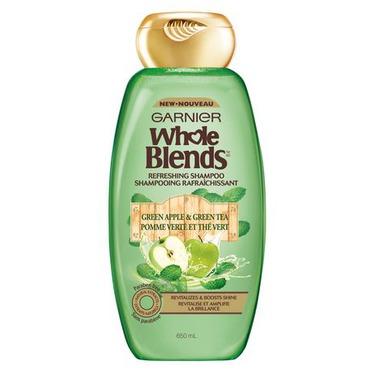 Garnier Whole Blends Green Apple & Green Tea Refreshing Shampoo