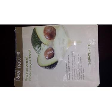 The Face Shop Real Nature Avocado Face Sheet Mask