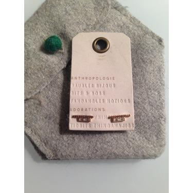 Anthropologie Adorations- Bar earrings