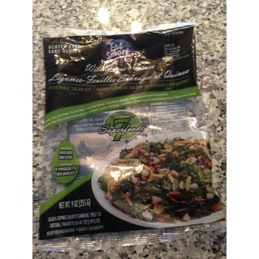 Wild Greens and Quinoa Vegetable Salad Kit- by Eat Smart
