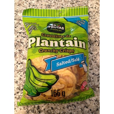 Plantain Crunchy Chips- Salted