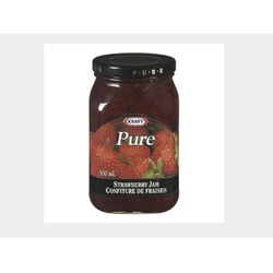 Kraft pure strawberry jam