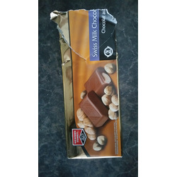 Western Family swiss milk chocolate with hazelnuts