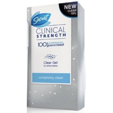 Secret Clinical Strength Deodorant and Anti-Perspirant
