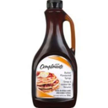 Compliments Butter Flavoured Syrup
