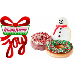Krispy Kreme Sprinkle Donut