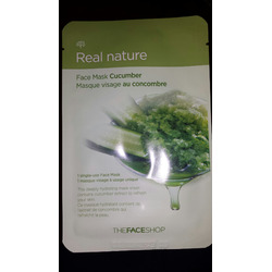 The Face Shop Real Nature Cucumber Face sheet mask
