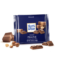Ritter Sport Praline Milk Chocolate Bar