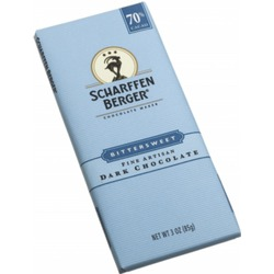 Scharffen Berger 70% Bittersweet Dark Chocolate Bar