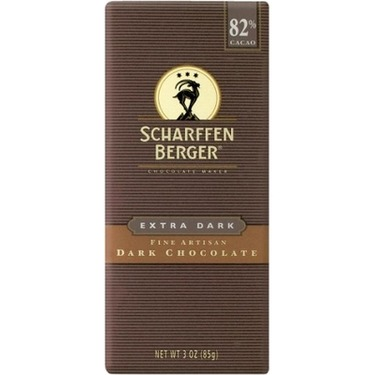 Scharffen Berger 82% Extra Dark Dark Chocolate Bar