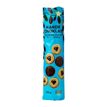 Ikea KAKOR CHOKLAD Biscuit with Chocolate Filling